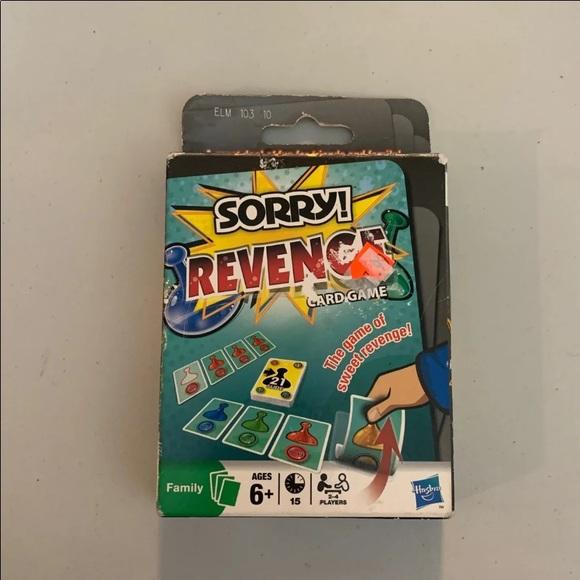 Sorry Revenge Card Game